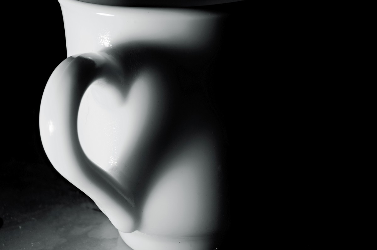 A cup with love