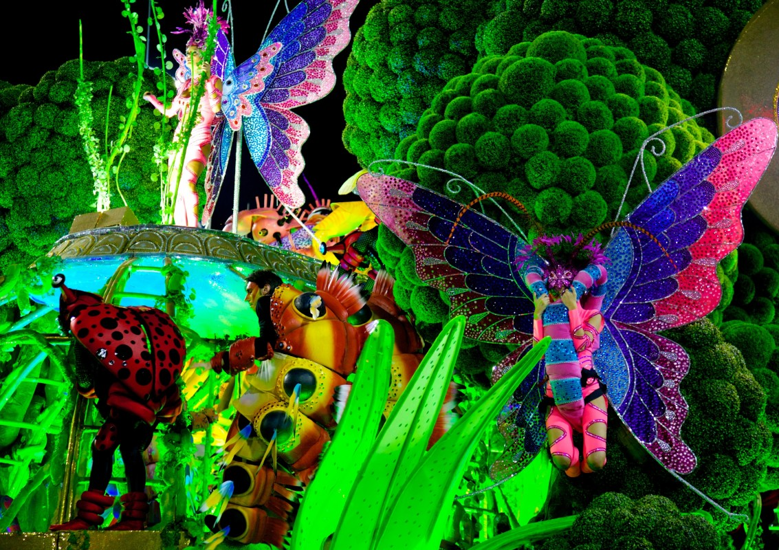 Creativity is at home in Rio Carnival