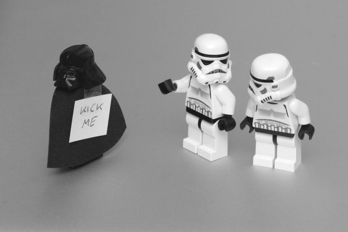Darth Vader pranked