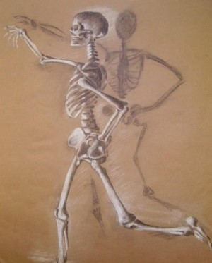 Artistic skeleton