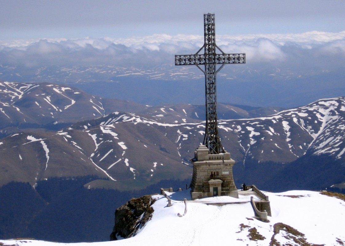 Heroes' Cross on Caraiman Peak