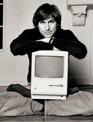 Steve Jobs in 1984