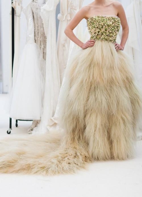 Hairy dress