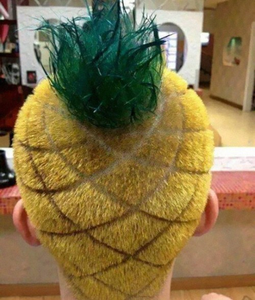 Pinneapple head