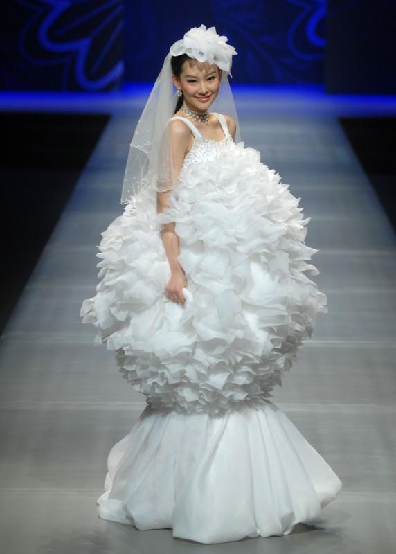 Exploded dress
