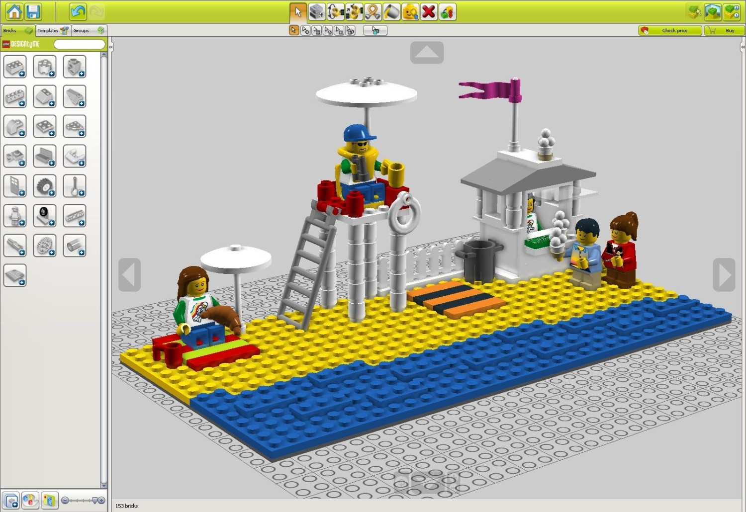 Lego 25 surprising steps to success miratico for Digital blueprint maker