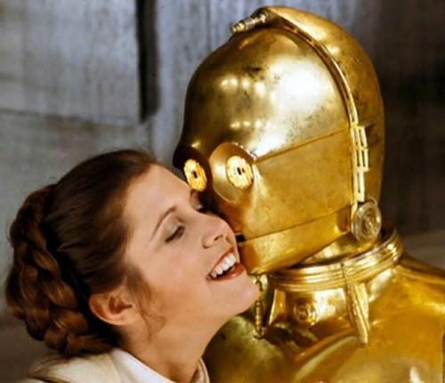 Leia and C-3PO