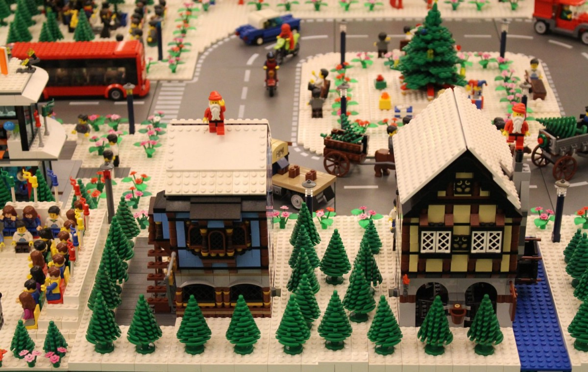Christmas has come to Lego City