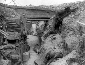 British trench in 1916