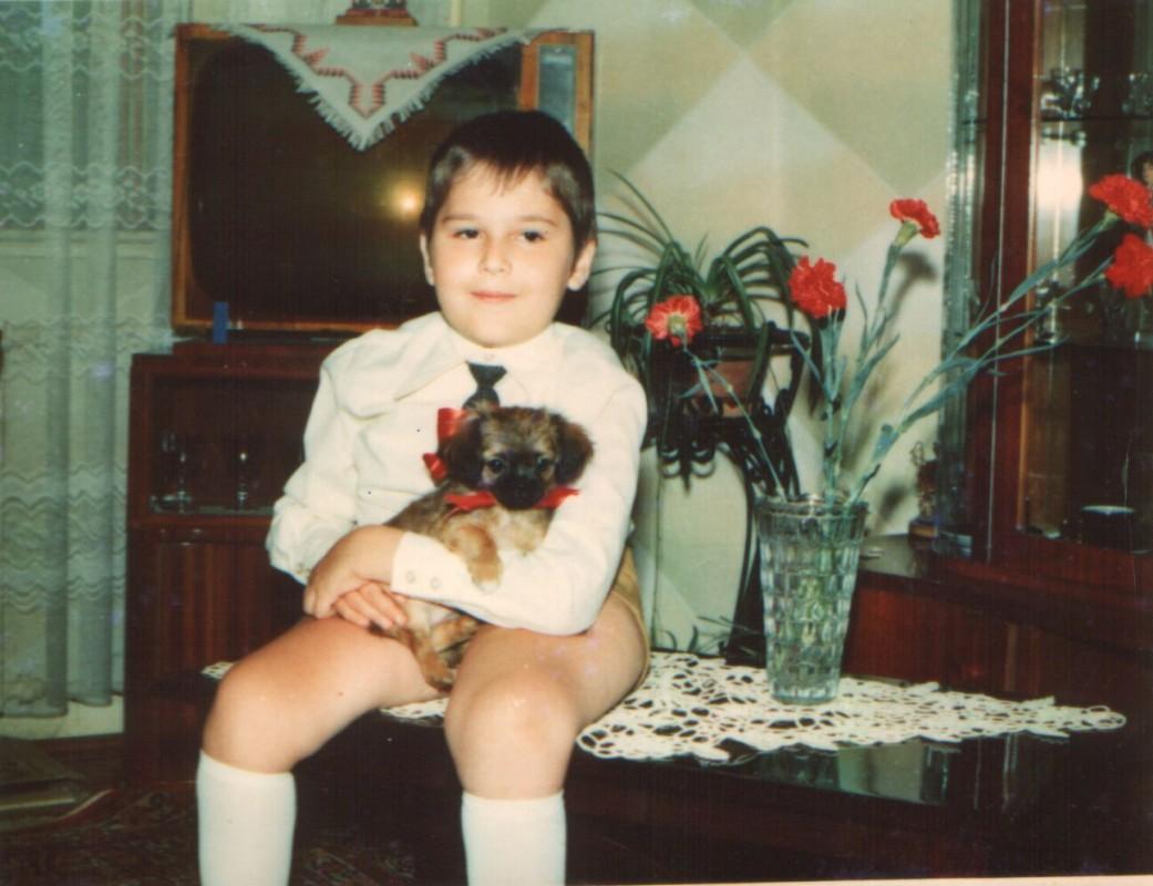 Me, at my 7th birthday anniversary
