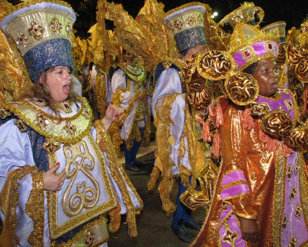 The Sambadrome parade