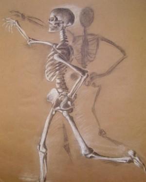 Artistic skeleton