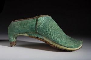 Persian riding shoe