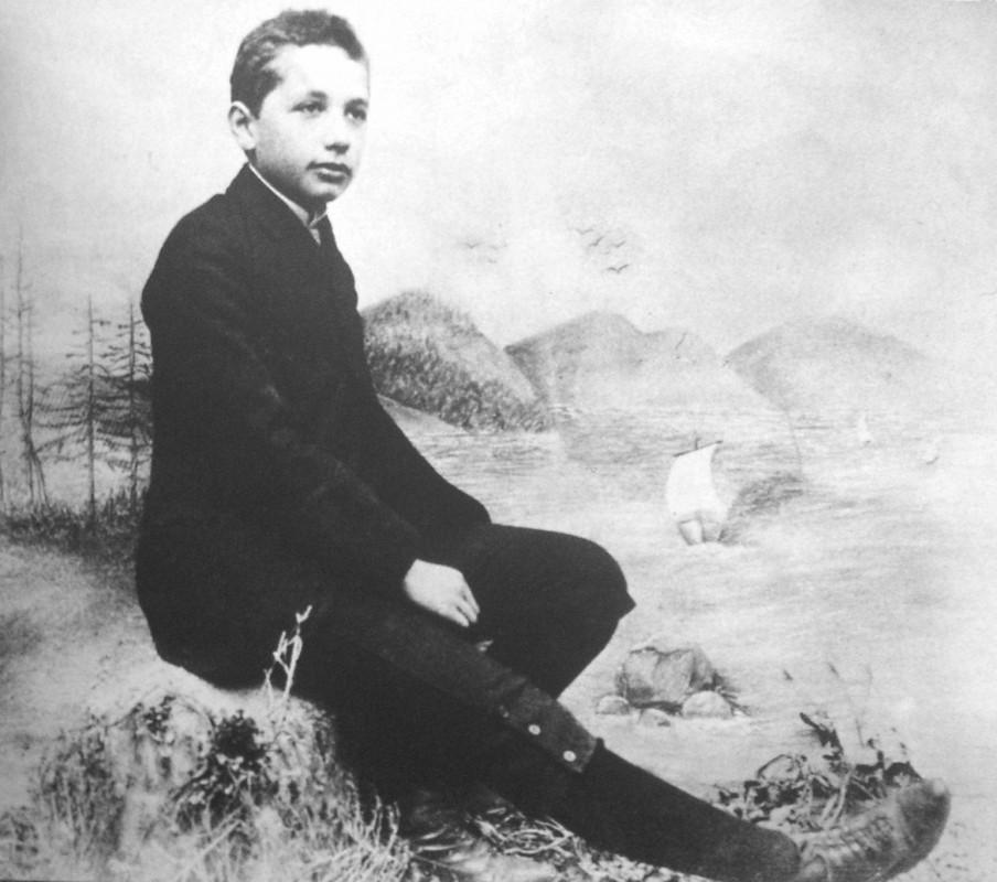 Albert Einstein at the age of 14