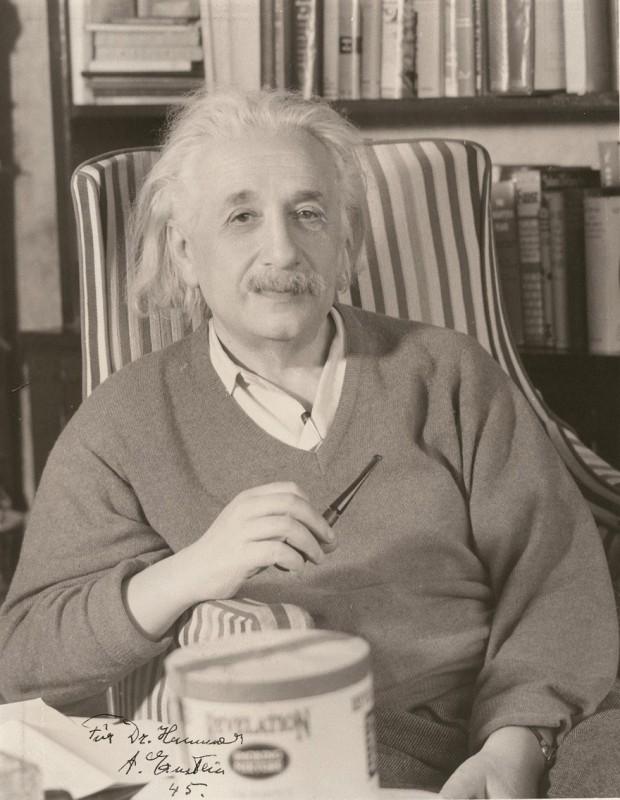 Albert Einstein - autograph