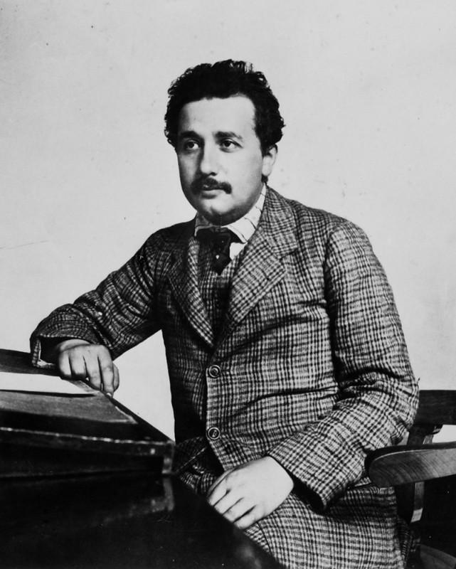 Albert Einstein as a clerk