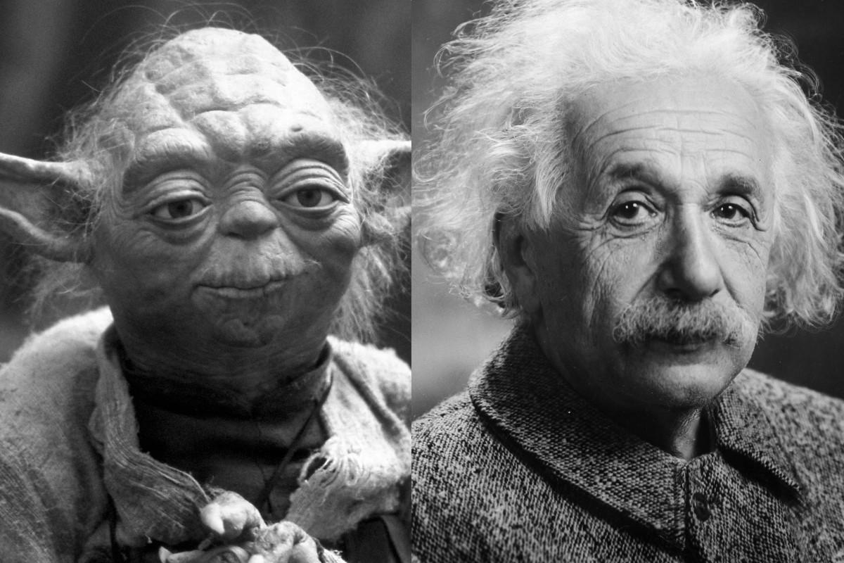 Yoda and Einstein