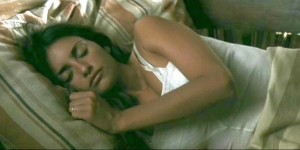 Penelope Cruz sleeping