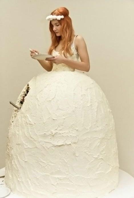 Eatable dress