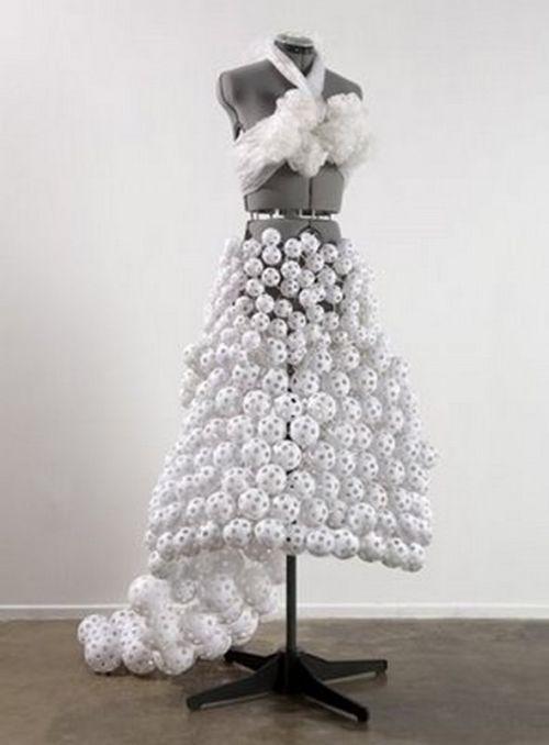 Wiffle ball dress