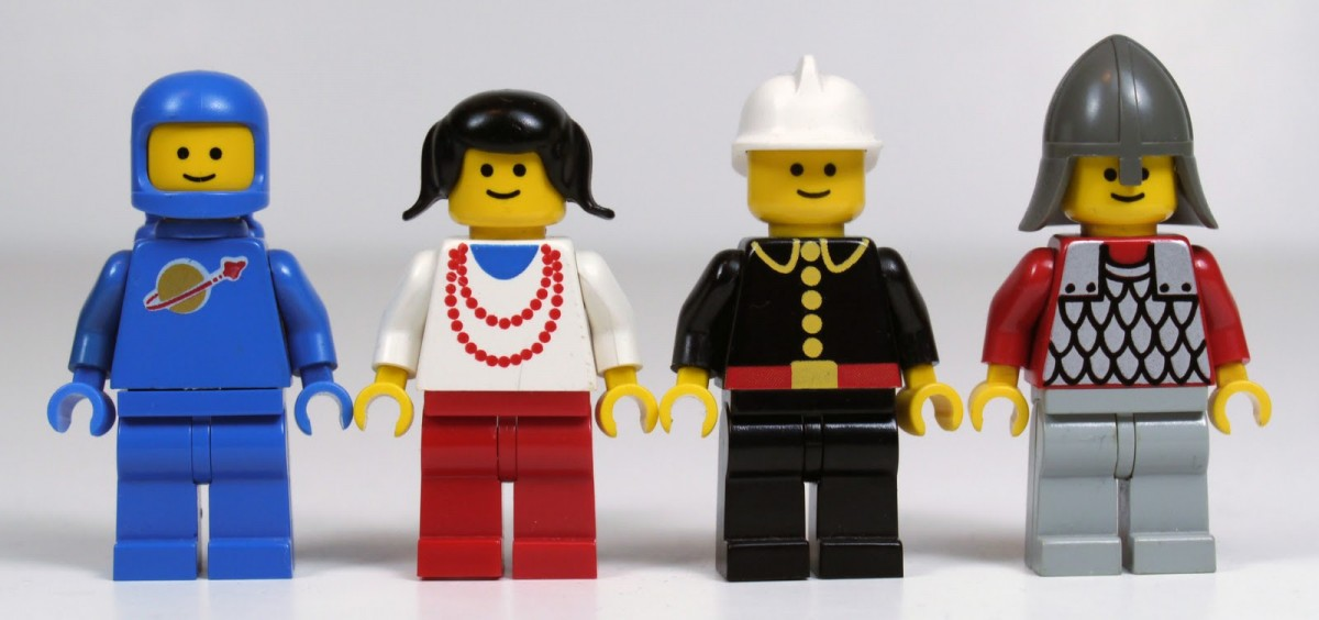 Lego minifig faces