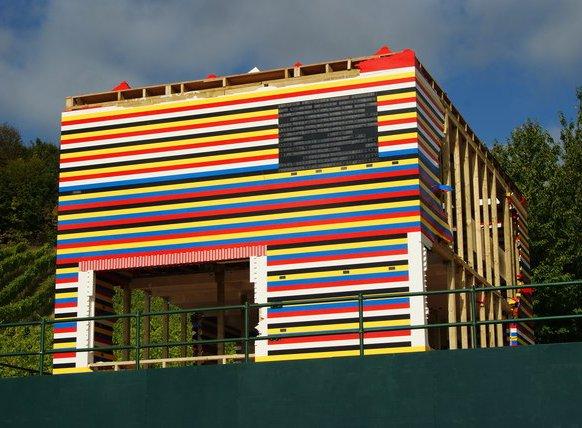 Lego bricks house