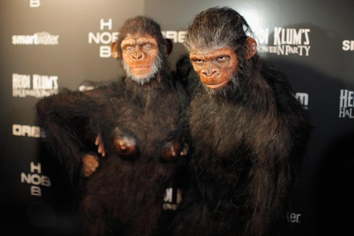 Heidi Klum & Seal 2011