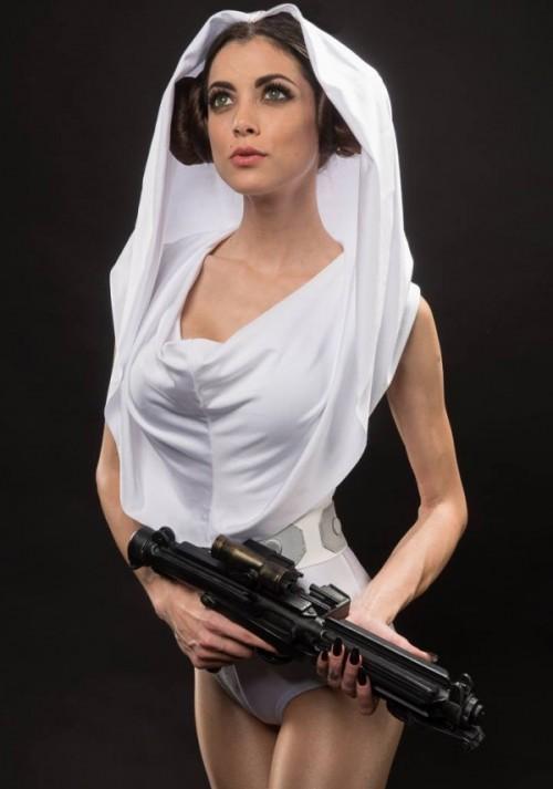 A more attractive Princess Leia