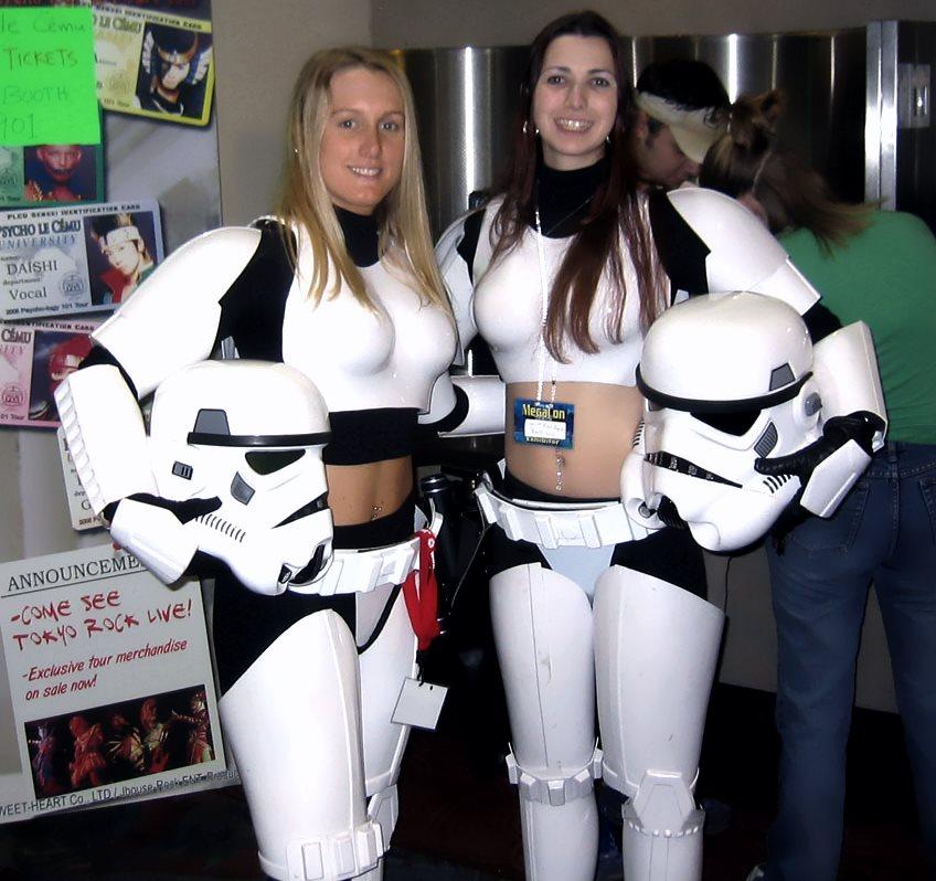 Stormtrooper in female version
