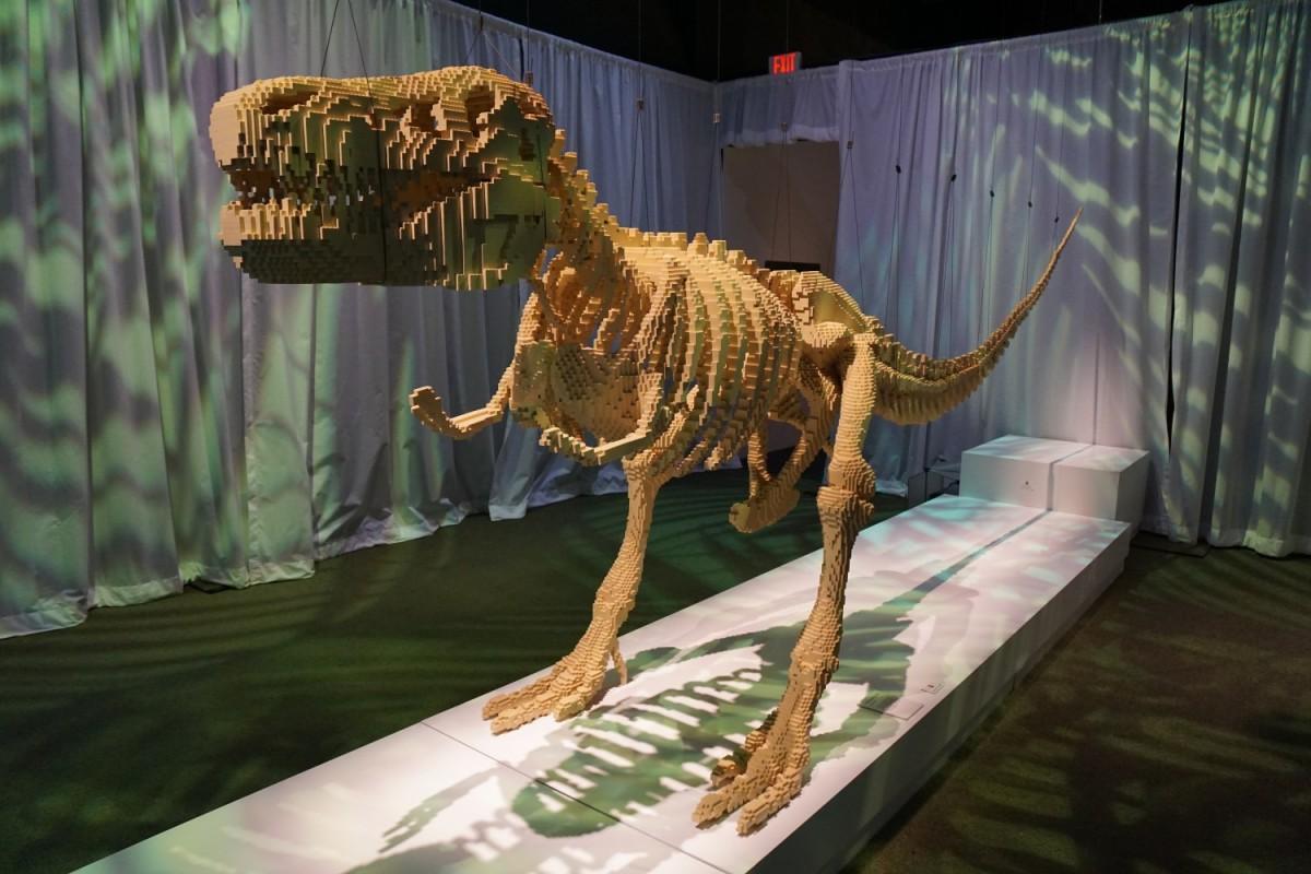 Tyrannosaurus rex front