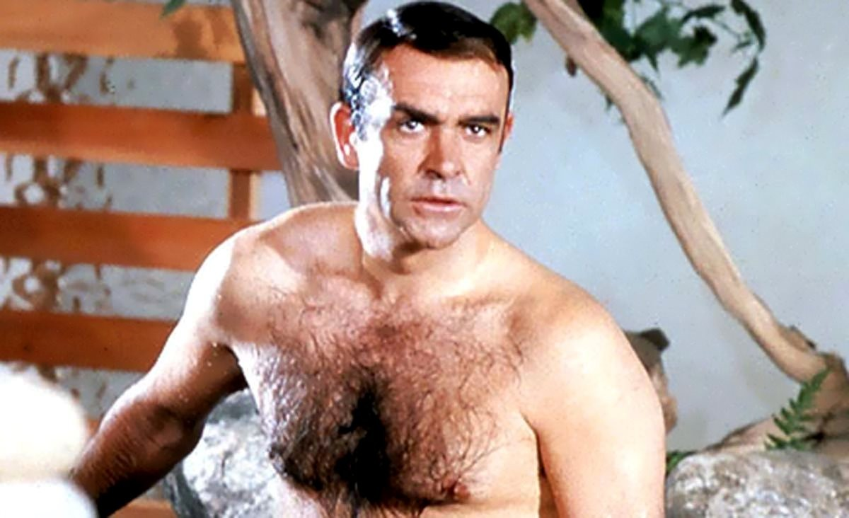 Sean Connery's naked bust