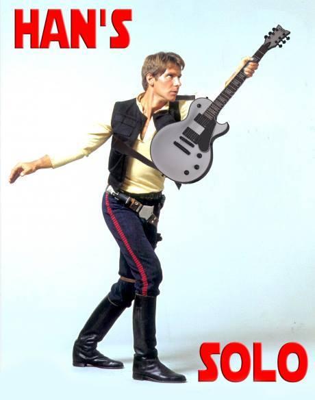 Han Solo guitar
